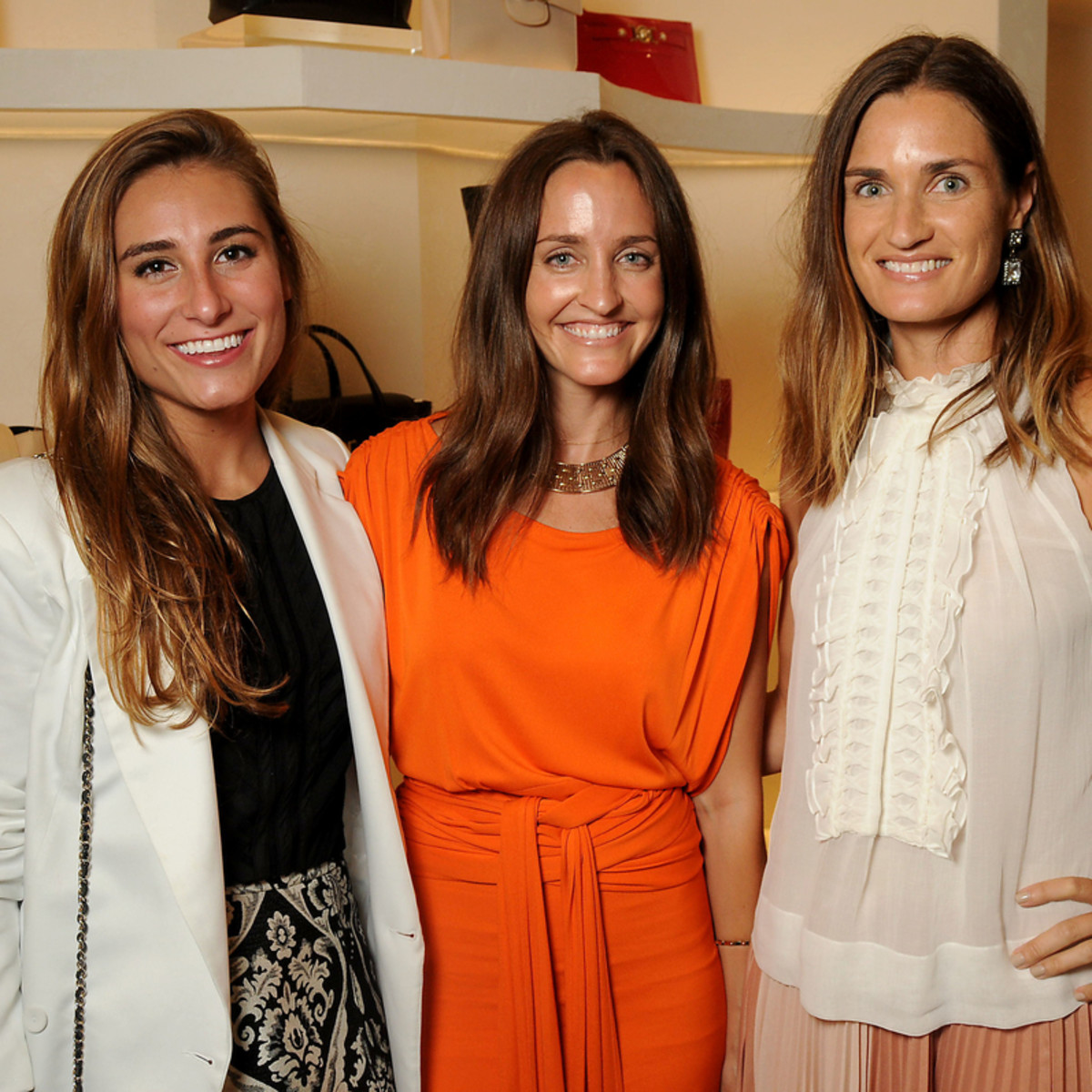 Houston, Vogue Simon Fashion Show, September 2015, Diandra Breen, Katie McClure, Erin Breen