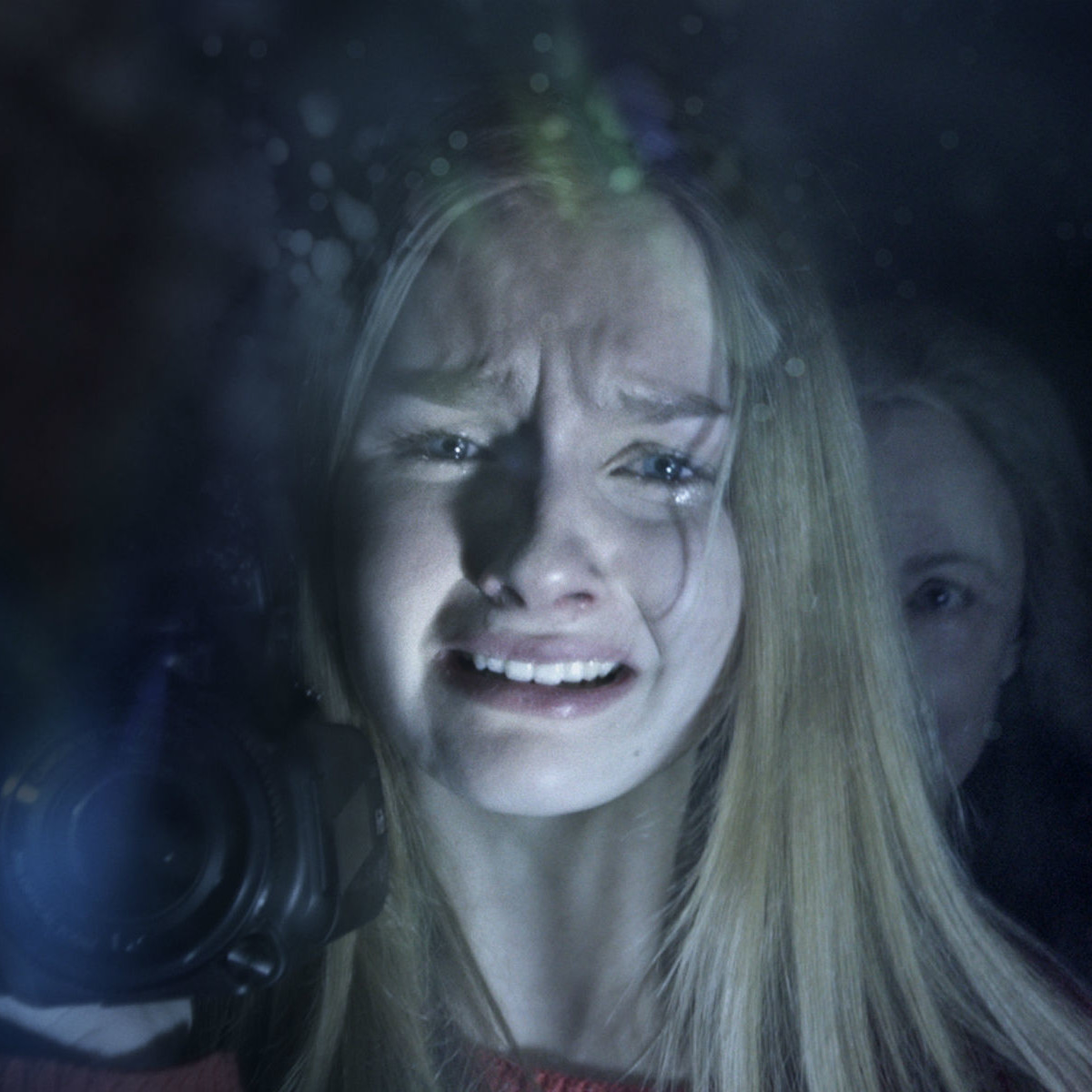 Olivia DeJonge and Deanna Dunagan in The Visit