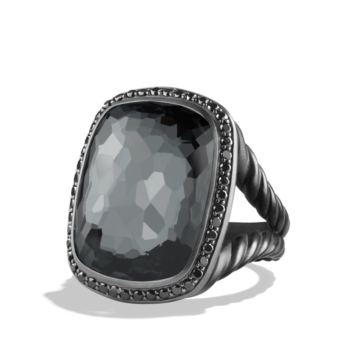 David Yurman Midnight Ice collection ring