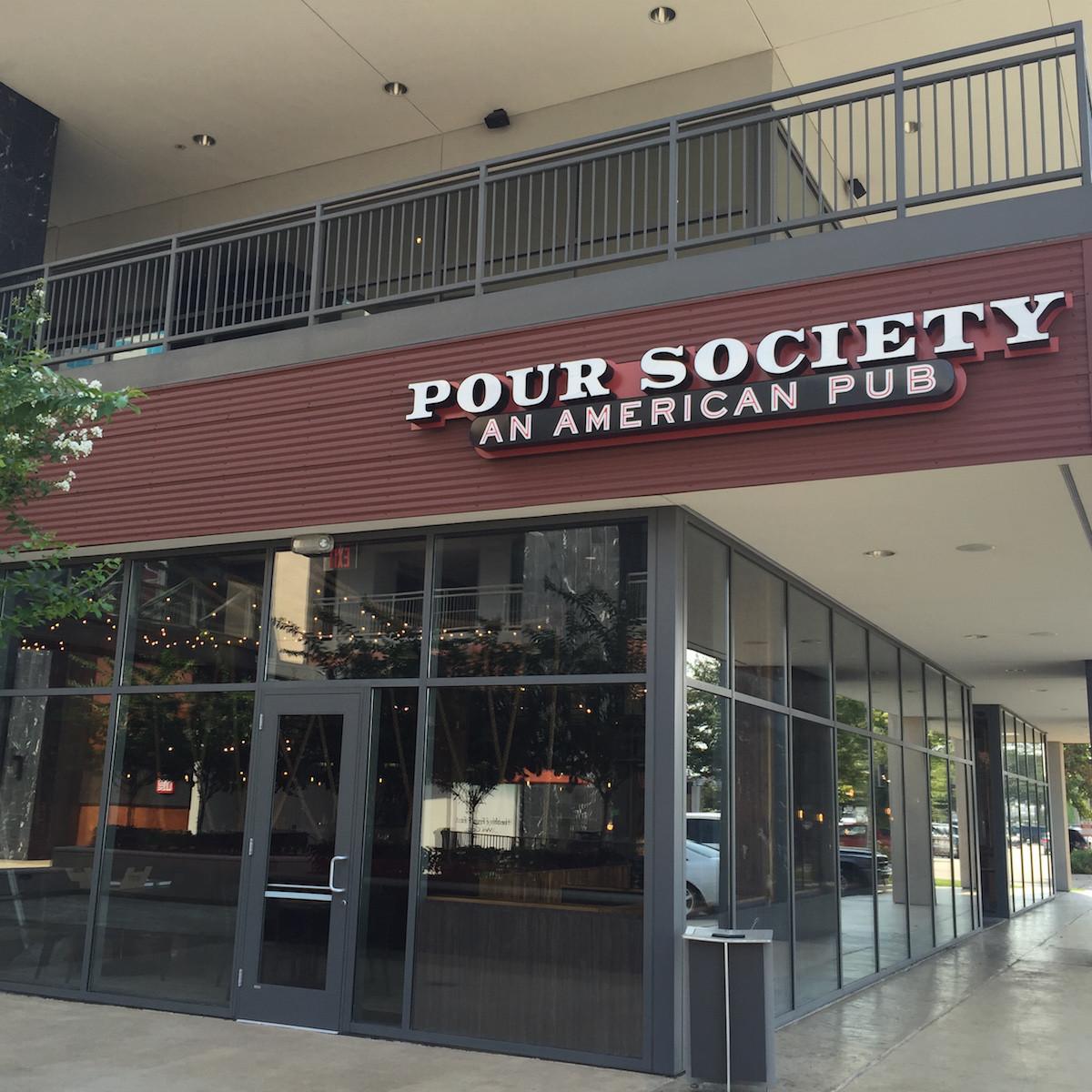 Pour Society exterior