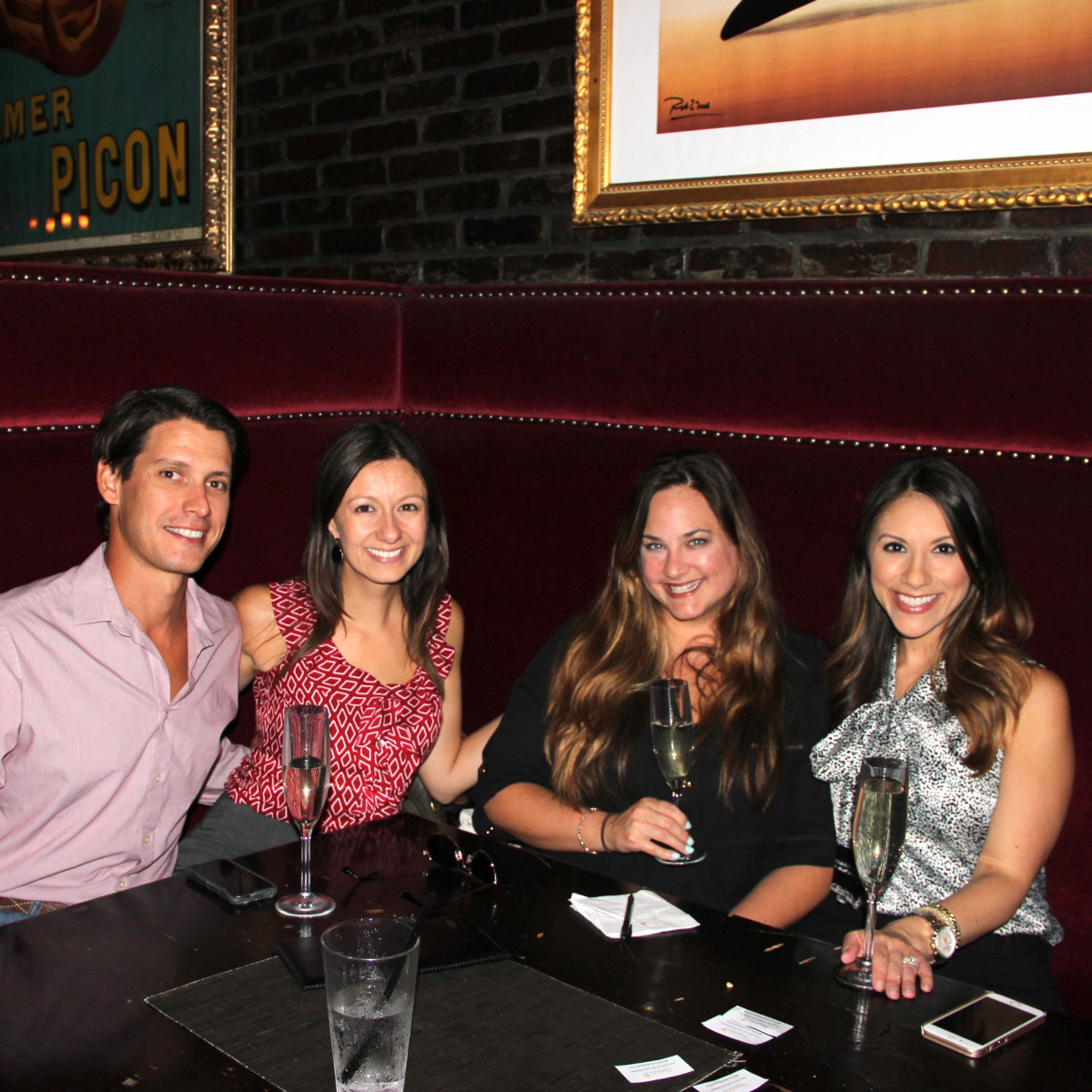 Houston, Friends of Depelchin Back to School Happy Hour, August 2015, Kevin Gilbert, Melissa Gilber, Natasha Paster, Rebecca Cantu