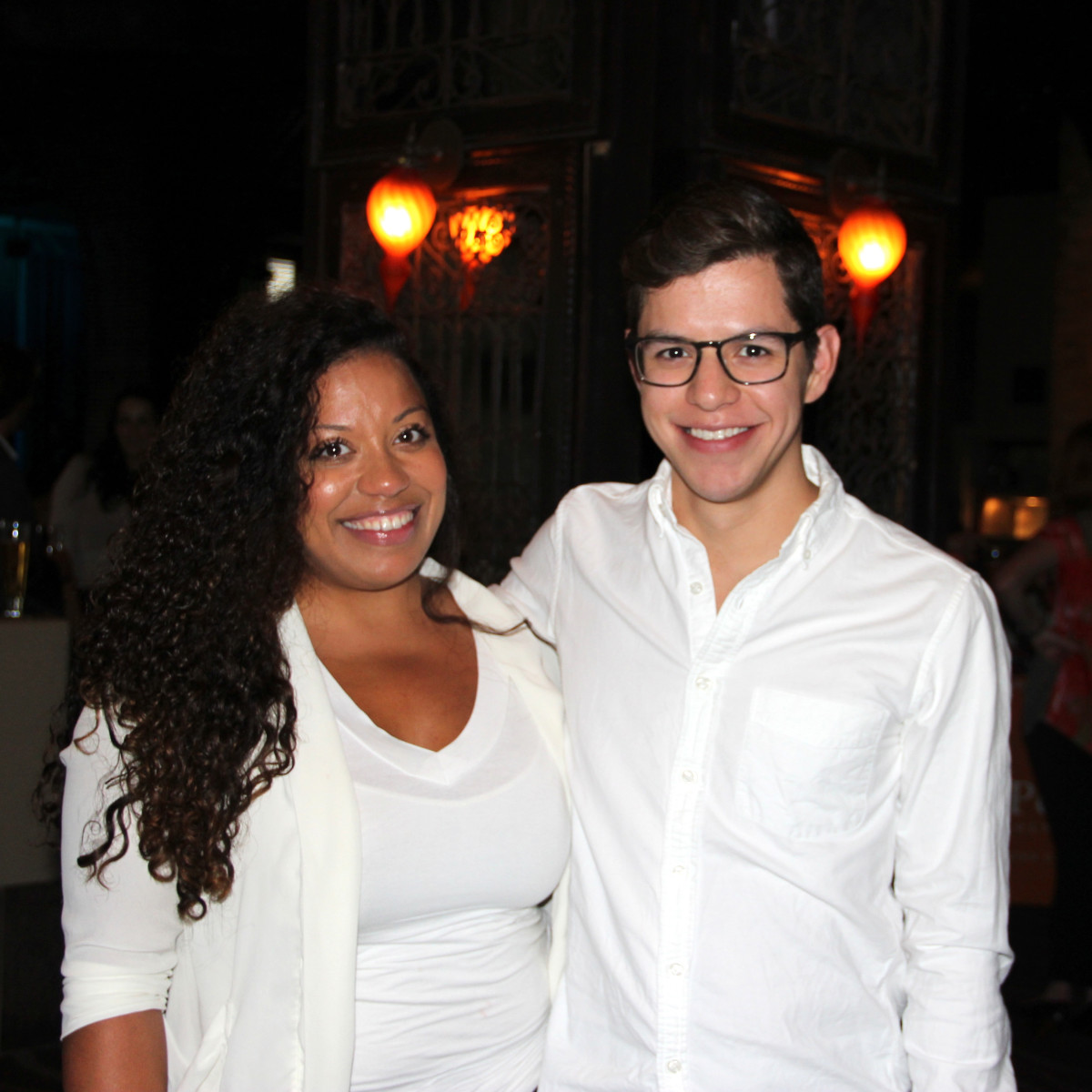 Houston, Friends of Depelchin Back to School Happy Hour, August 2015, Ivana Richardson, Michael Martinez