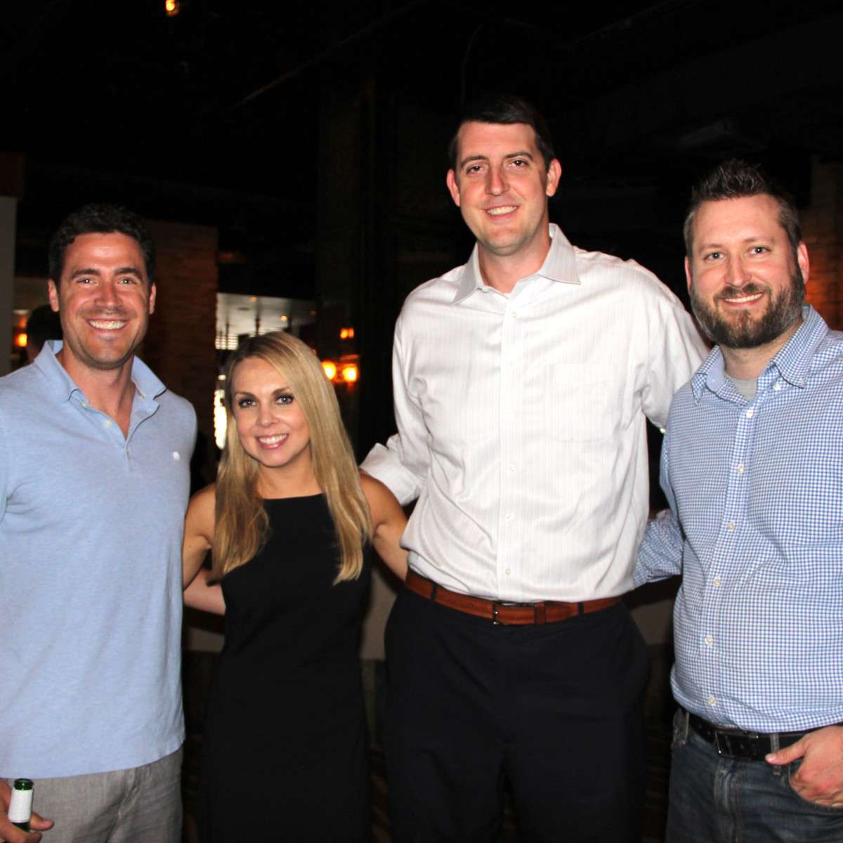 Houston, Friends of Depelchin Back to School Happy Hour, August 2015, Ben Sachs, Natalie Higden, Robert Tinnell, Paxton Rogers