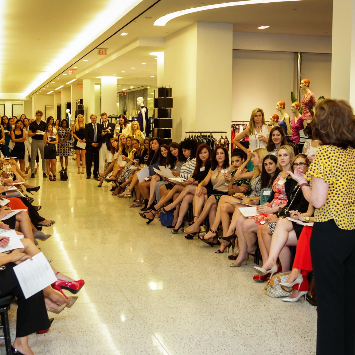 Houston, Ellevate event at Tootsies, August 2015, Lidya Osadchey