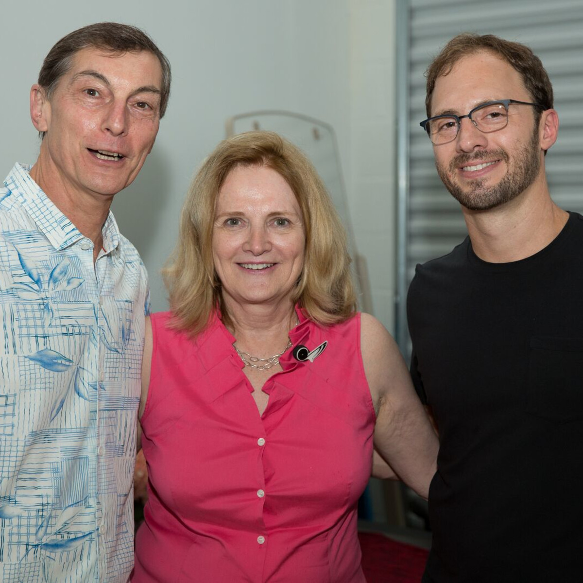 News, Shelby, Opera in the Heights party, August 2015,  Tony Tripodo, Marcia Feldman, Michael Raak