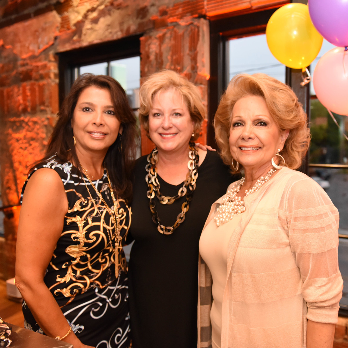 News, Shelby, Peter Remington 60th birthday, August 2015, Regina Garcia, Patsy Chapman, Philamena Baird