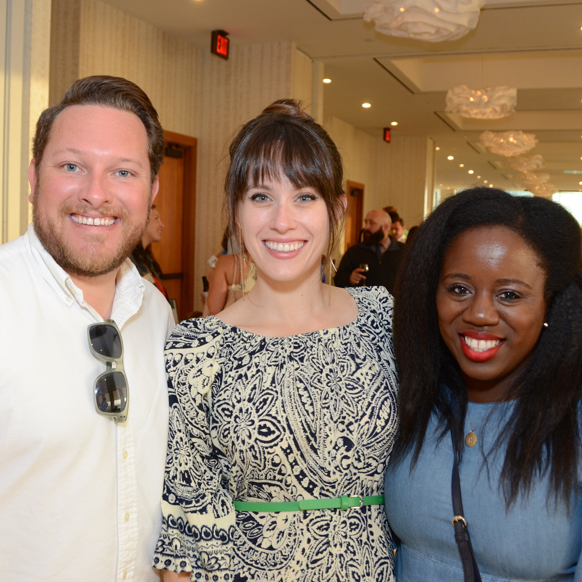 YP Zoo Aug 2015 Kenny Terrell, Marianne Terrell, Lauren Beamon