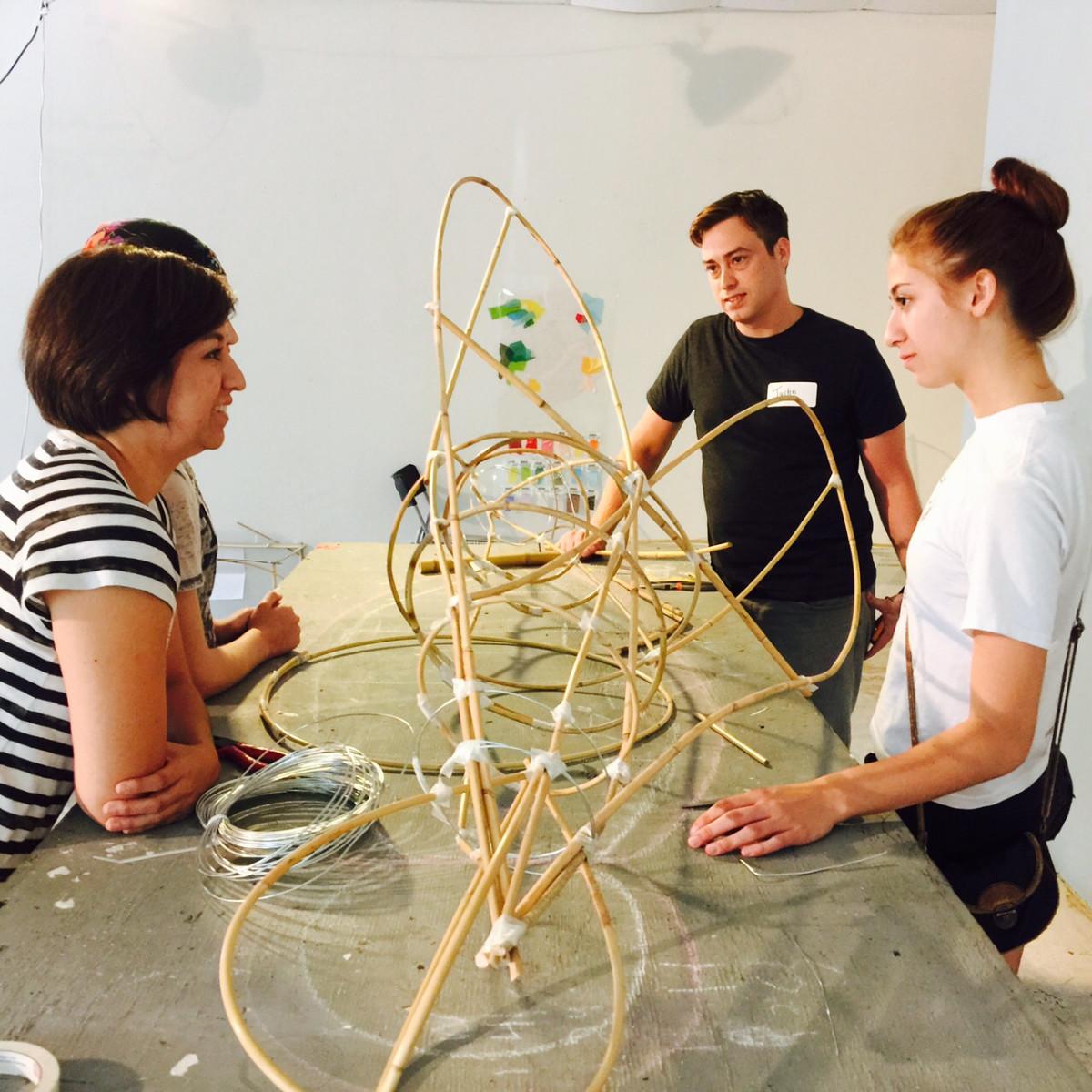 News, Shelby, Buffalo Bayou Park lanterns, August 2015, Justin Dunford