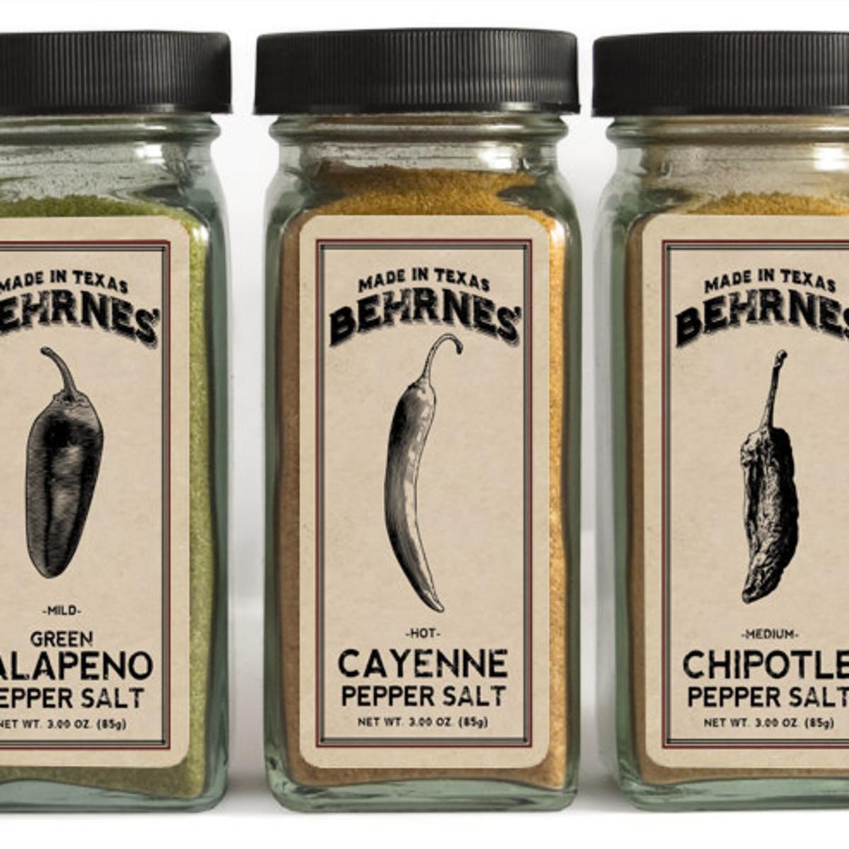 Behrnes' pepper salts