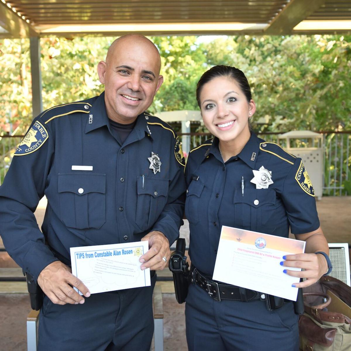 News, Shelby, Thread Alliance, Blue Moon Party, July 2015, Deputy Sam Olivares, Deputy Sandra Chavez