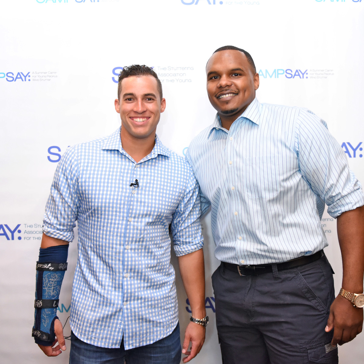 Houston, George Springer All-Star Bowling Benefit, July 2015, George Springer, Chester Pitts