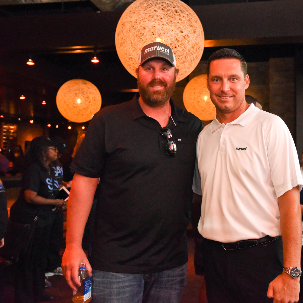 Houston, George Springer All-Star Bowling Benefit, July 2015, Adam Dunn, Kurt Ainsworth