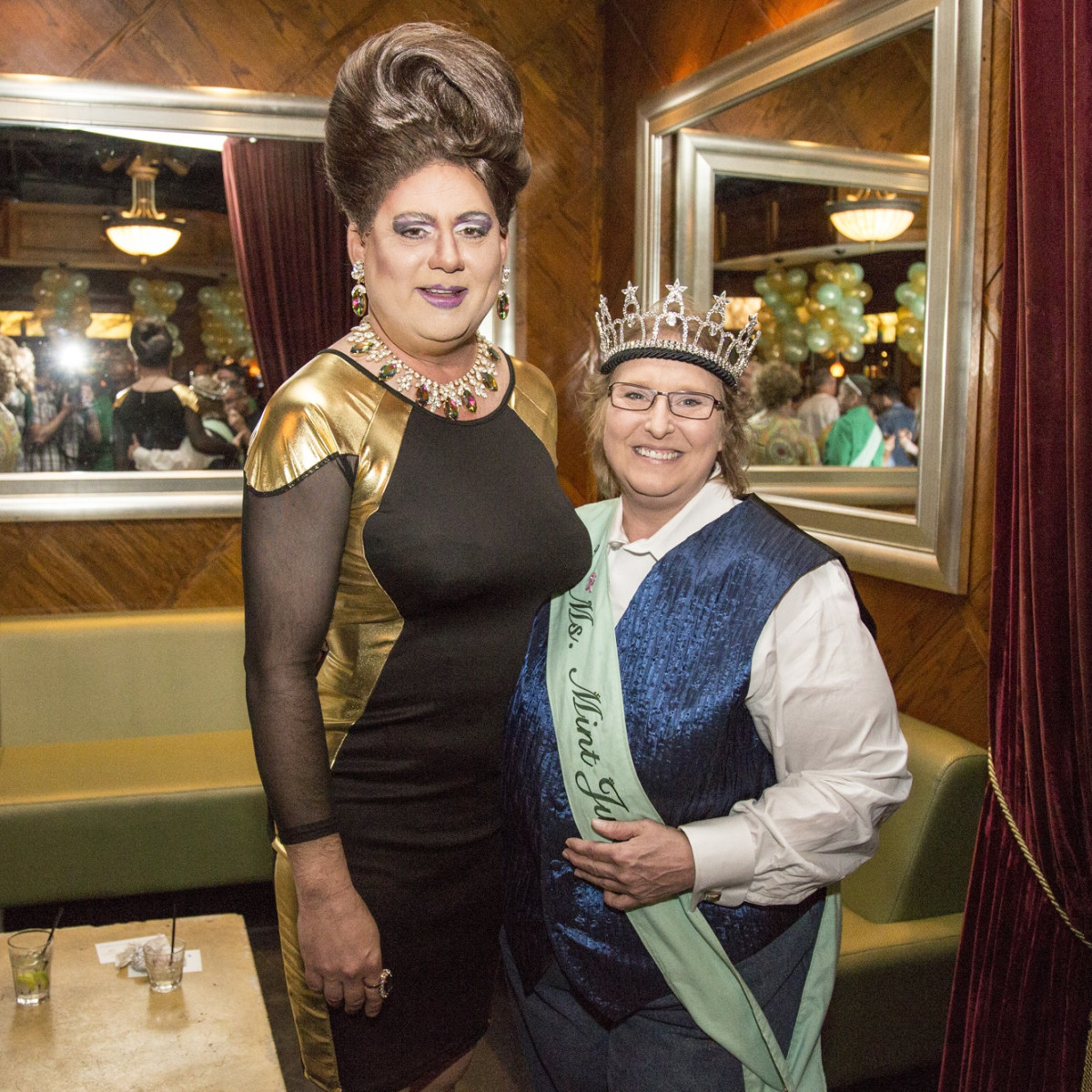 News, Shelby, Legacy Mint Julep party, July 2015,Keith Nappier, Susan Hayes
