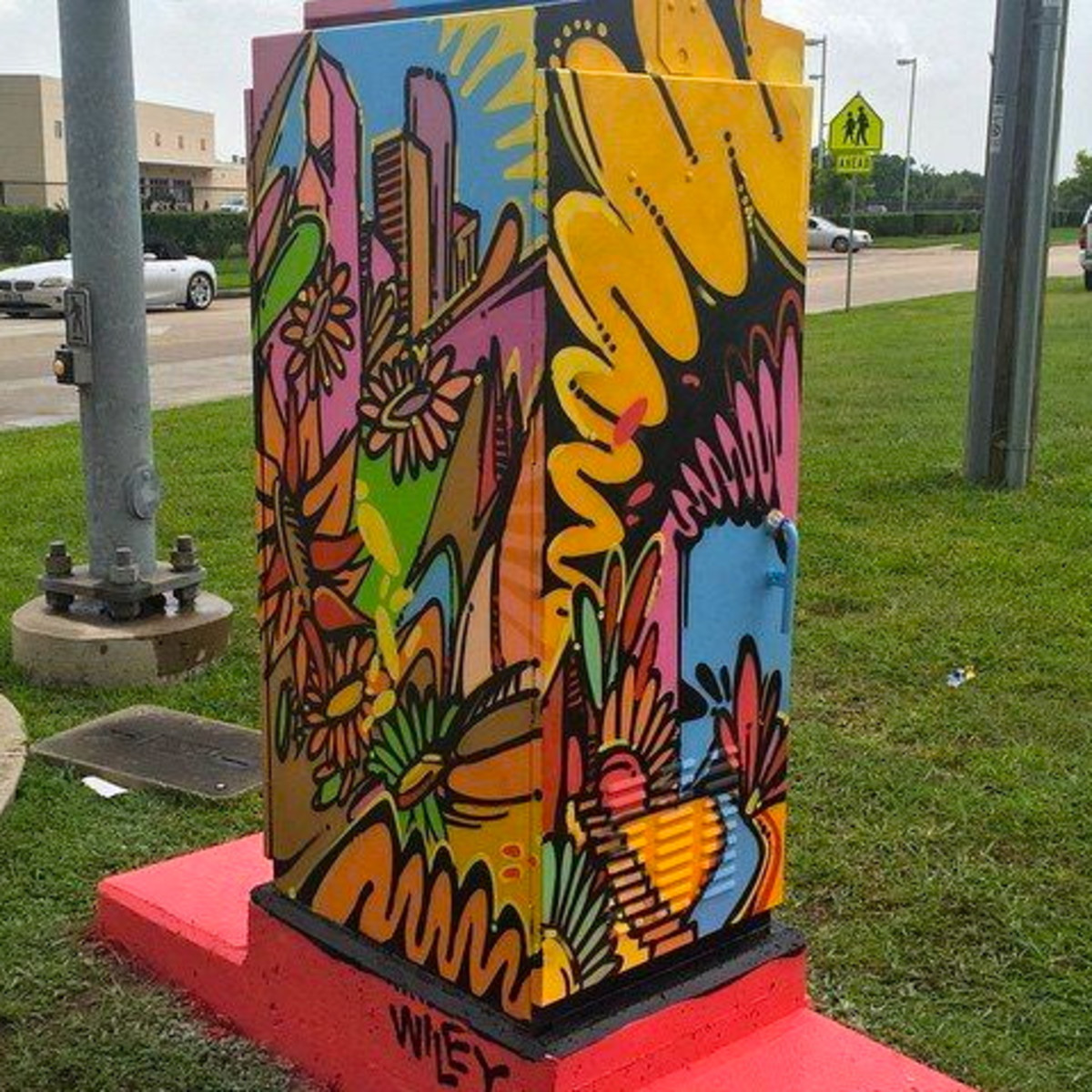 Houston, Mini Murals, July 2015, Wiley Robertson