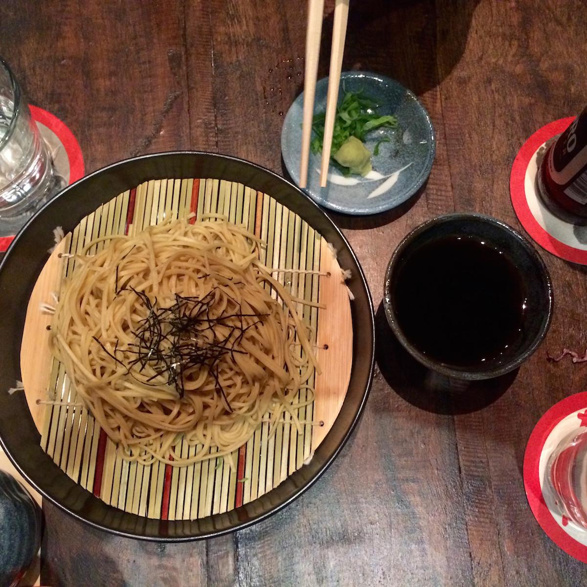 Izakaya soba noodles