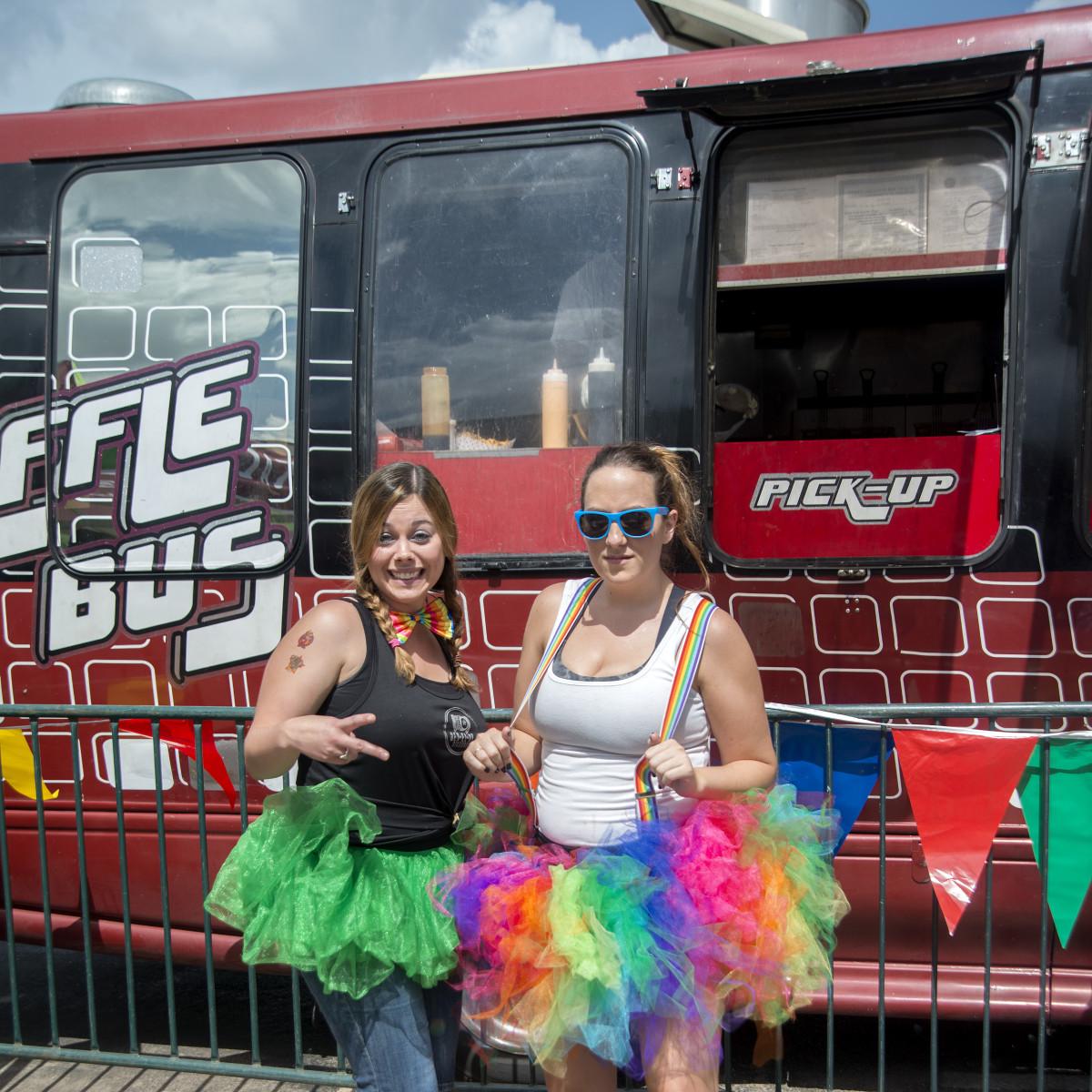 News, Shelby, Revelry party, July 2015, Jamie Garcia, Rachel Schlothauer
