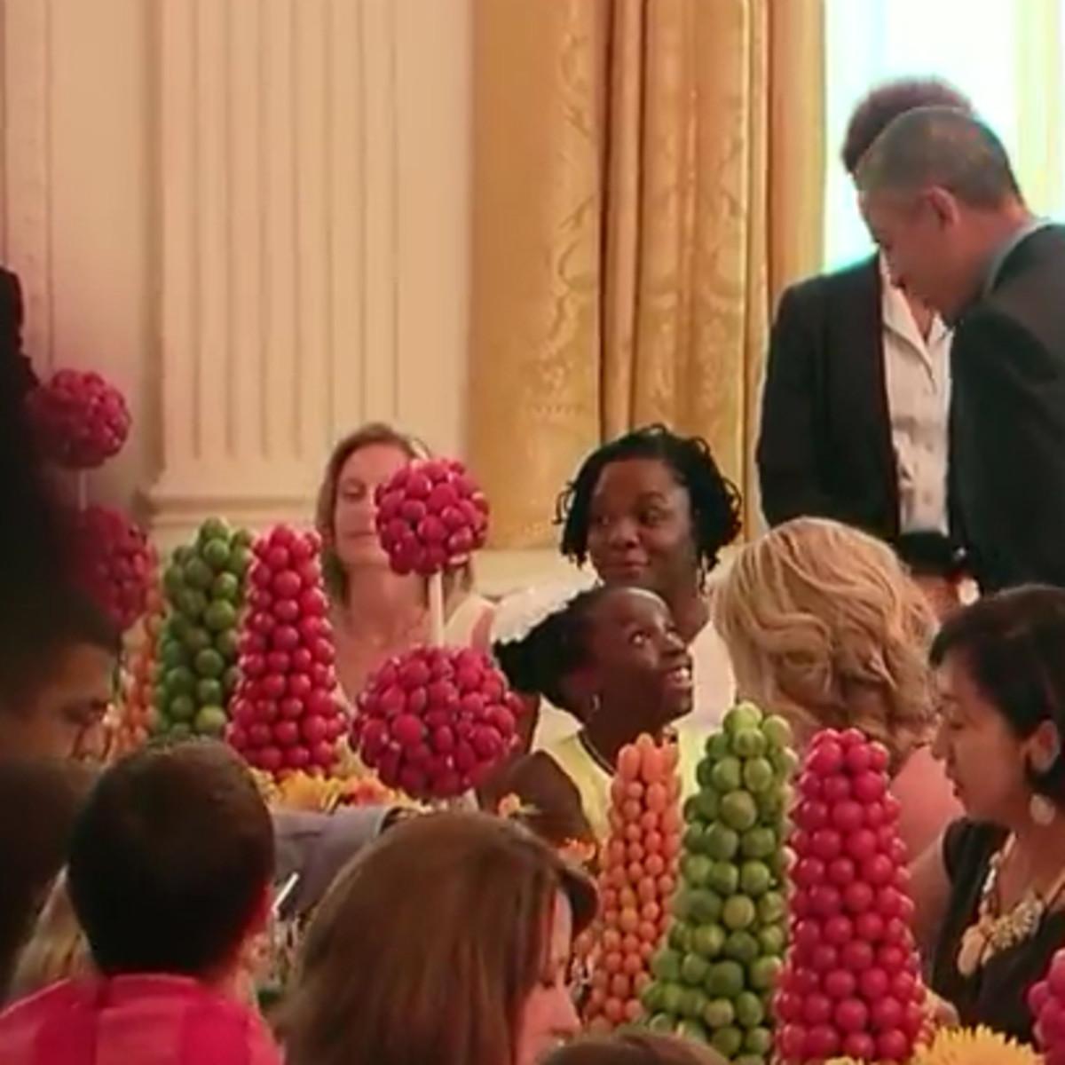 Mikaila Ulmer BeeSweet Lemonade Austin White House Kids State Dinner President Barack Obama July 2015