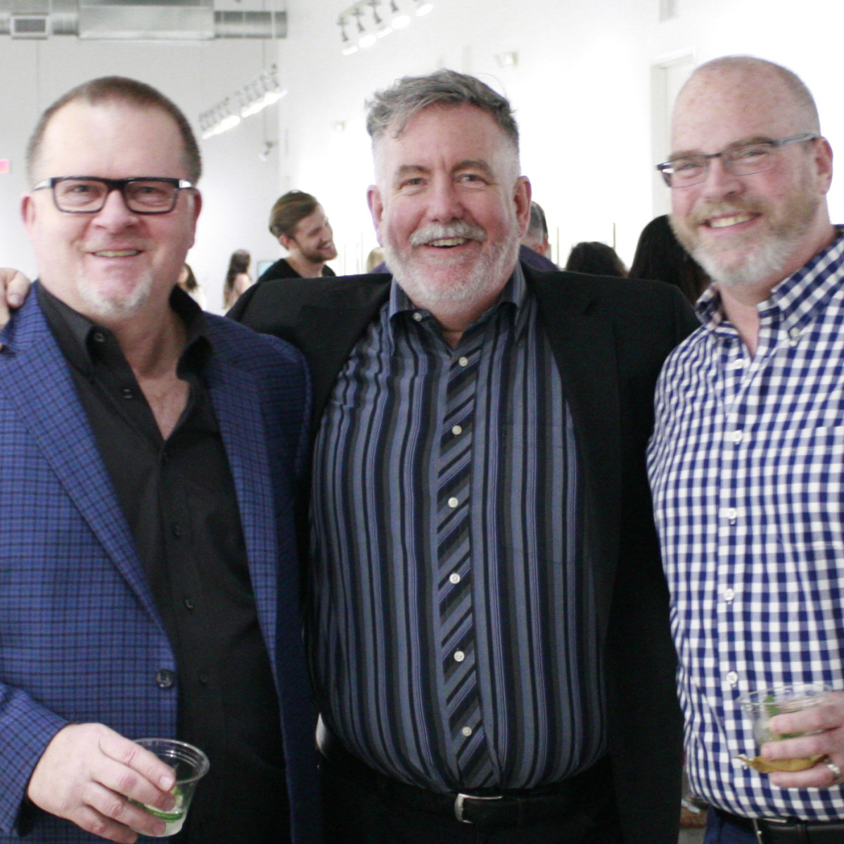FotoFest Opening Reception David Klonkowski, Steven Evans, George Toland