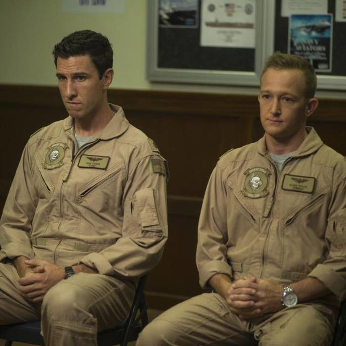 Pablo Schreiber and Eric Ladin co-star in the HBO series The Brink