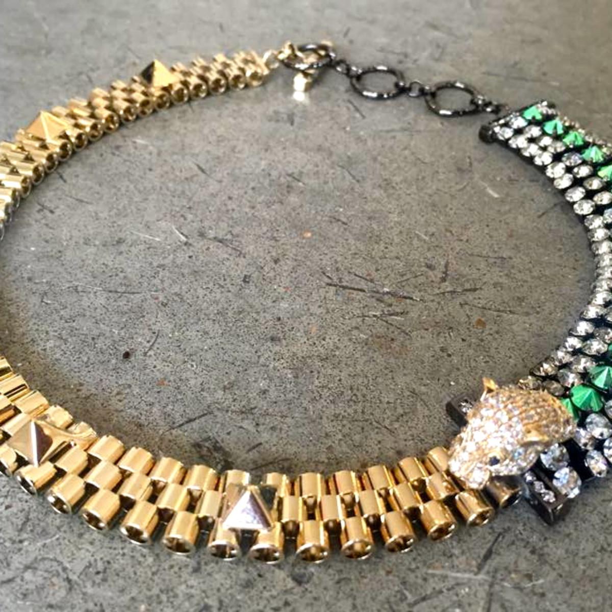 Houston, Sloan Hall, Ioselliani necklace, July 2015