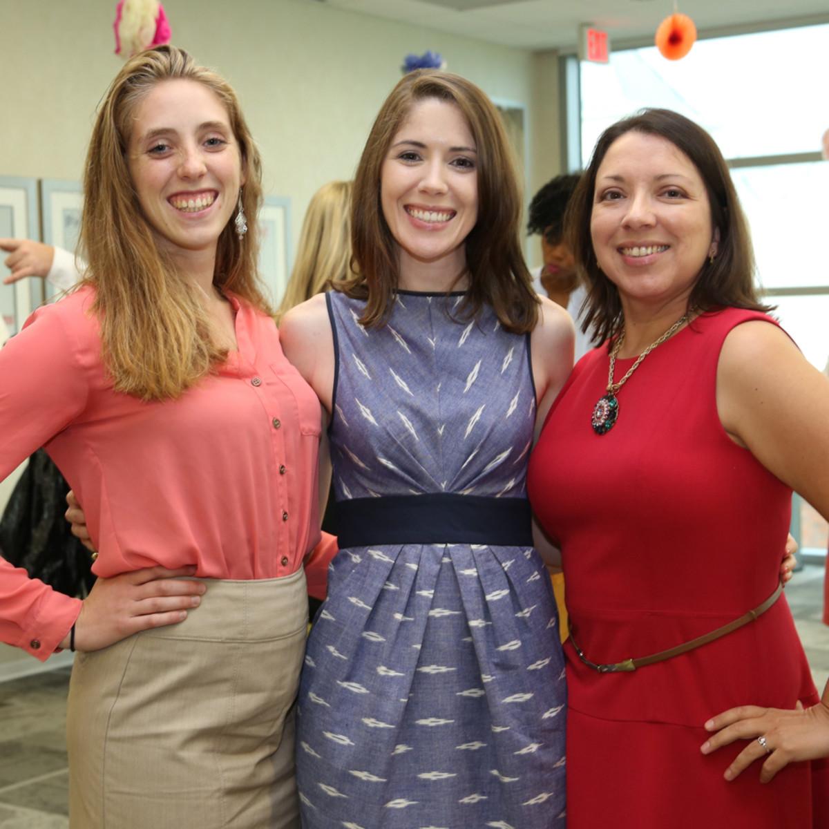 WOW Membership Fiesta 2015 Lisa Bergeron, Laura Bohlmann, Christina Mendoza