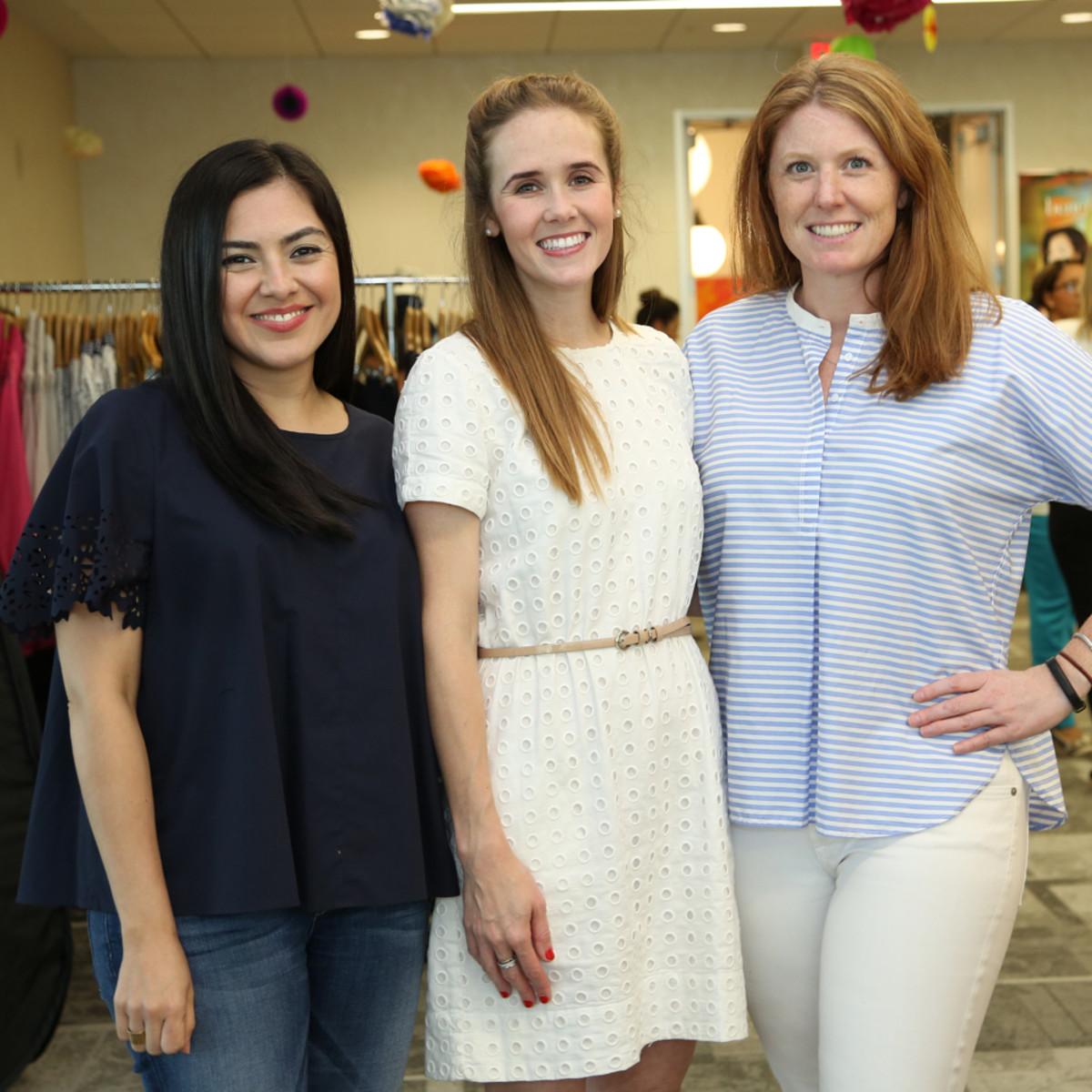 WOW Membership Fiesta 2015 Karla Gutierez, Hanna Lonergan, Susan Oehl