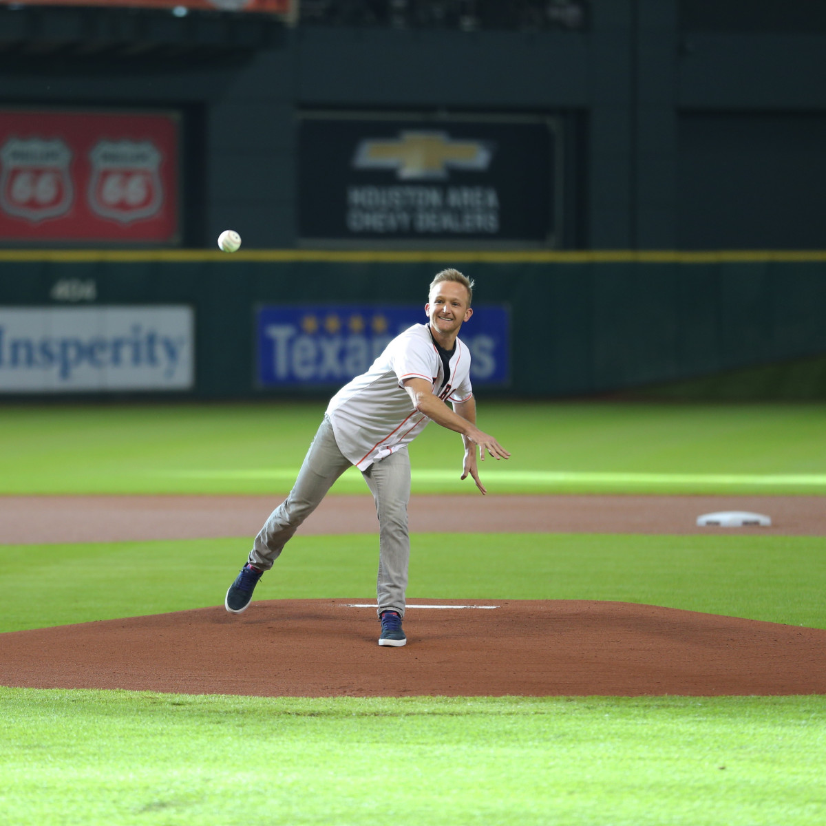 Houston, Eric Ladin, The Brink, July 2015, Astros Game