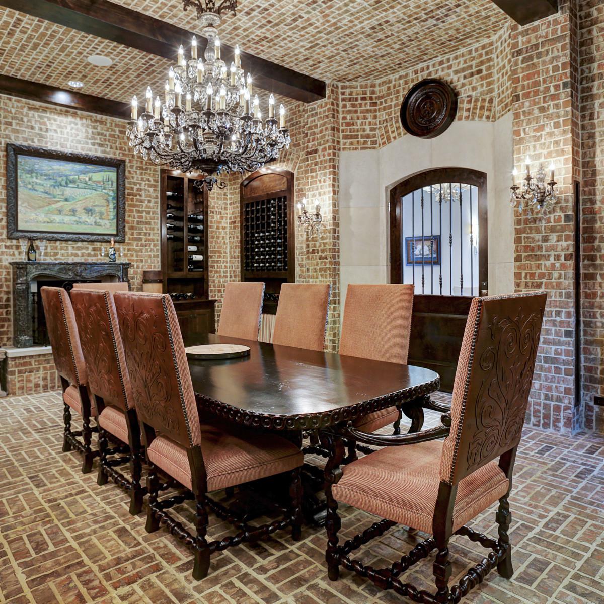 Houston, Buckingham 527, June 2015, wine room 2