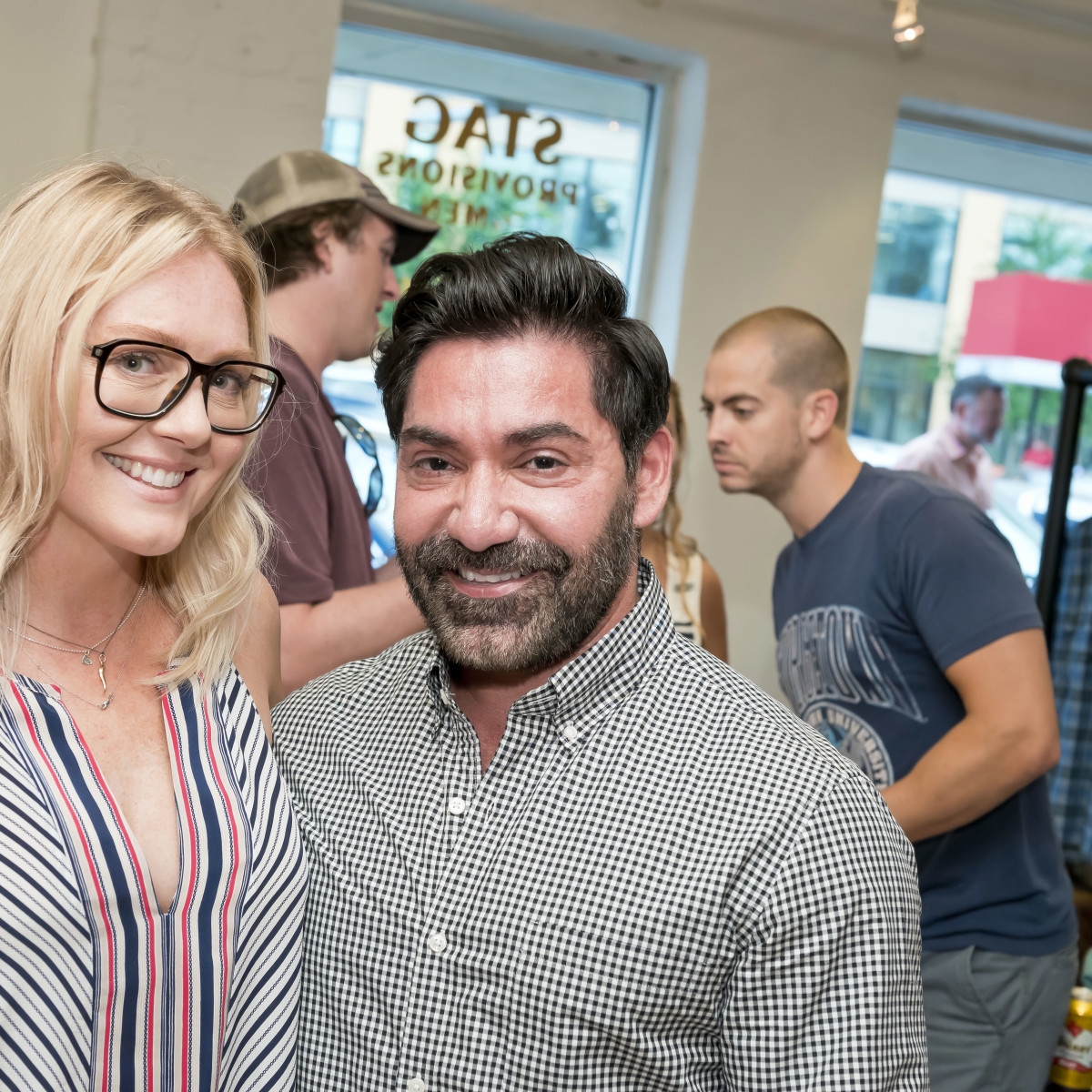 Houston, Stag Provisions opening party, June 2015, Caroline Starry LeBlanc, David Michael