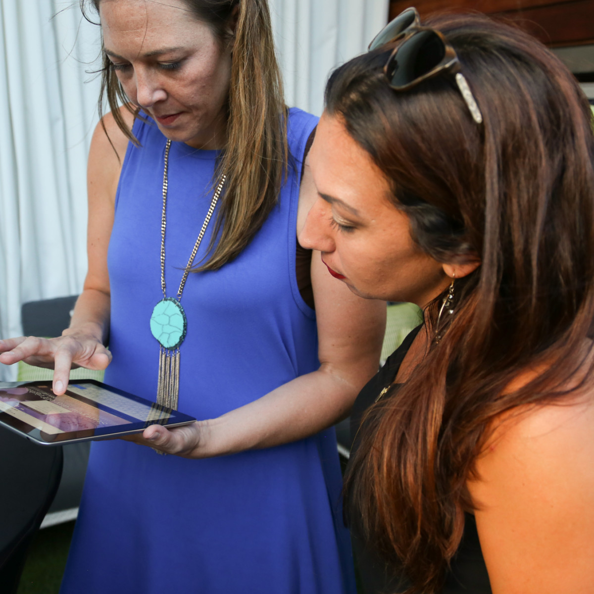 CultureMap Social The W Hotel Wet Deck Vote Here Station for Nonprofits