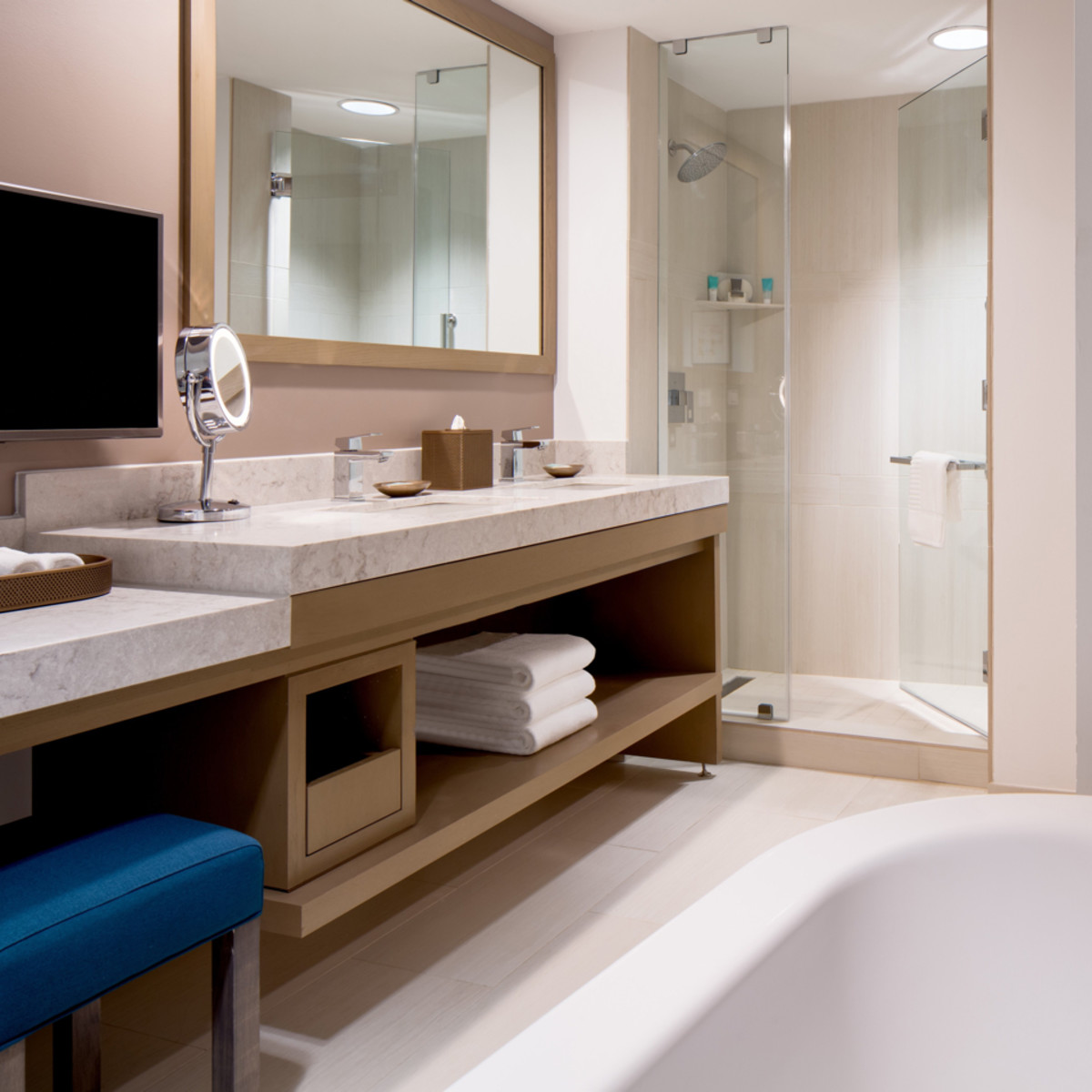 Hyatt Regency two story suites master bath 2