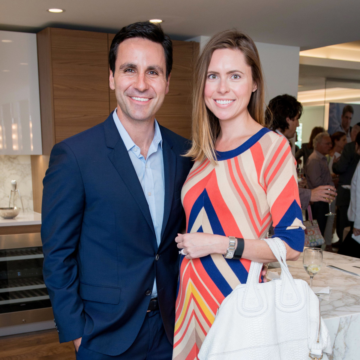 Houston, The River Oaks High Rise Preview Party, June 2015, Jock and Jill Naponic