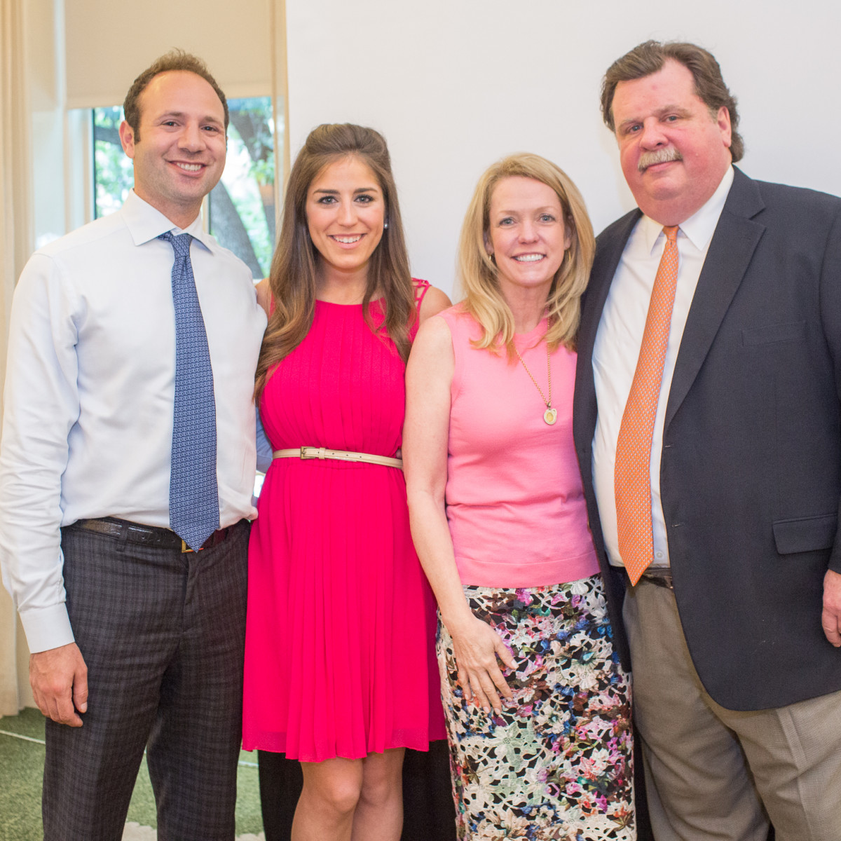 News, Shelby, Cheers 4 Charity kick-off, June 2015, Ben and Laura Max Rose, Robin and Alex Brennan-Martin