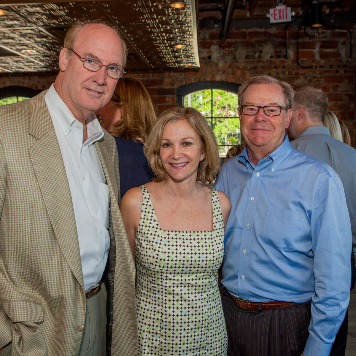 Houston, Pastorini party, June 2015, Kevin Henry, Sherri Gordon, Charles Gordon