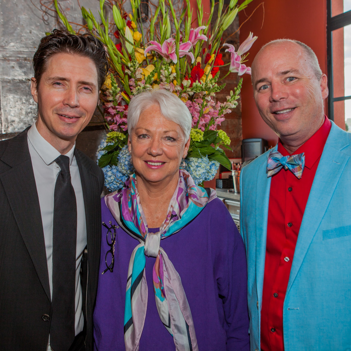 Houston, Pastorini party, June 2015, Luke Leonard, Debbie Phillips, Bryan Blaum