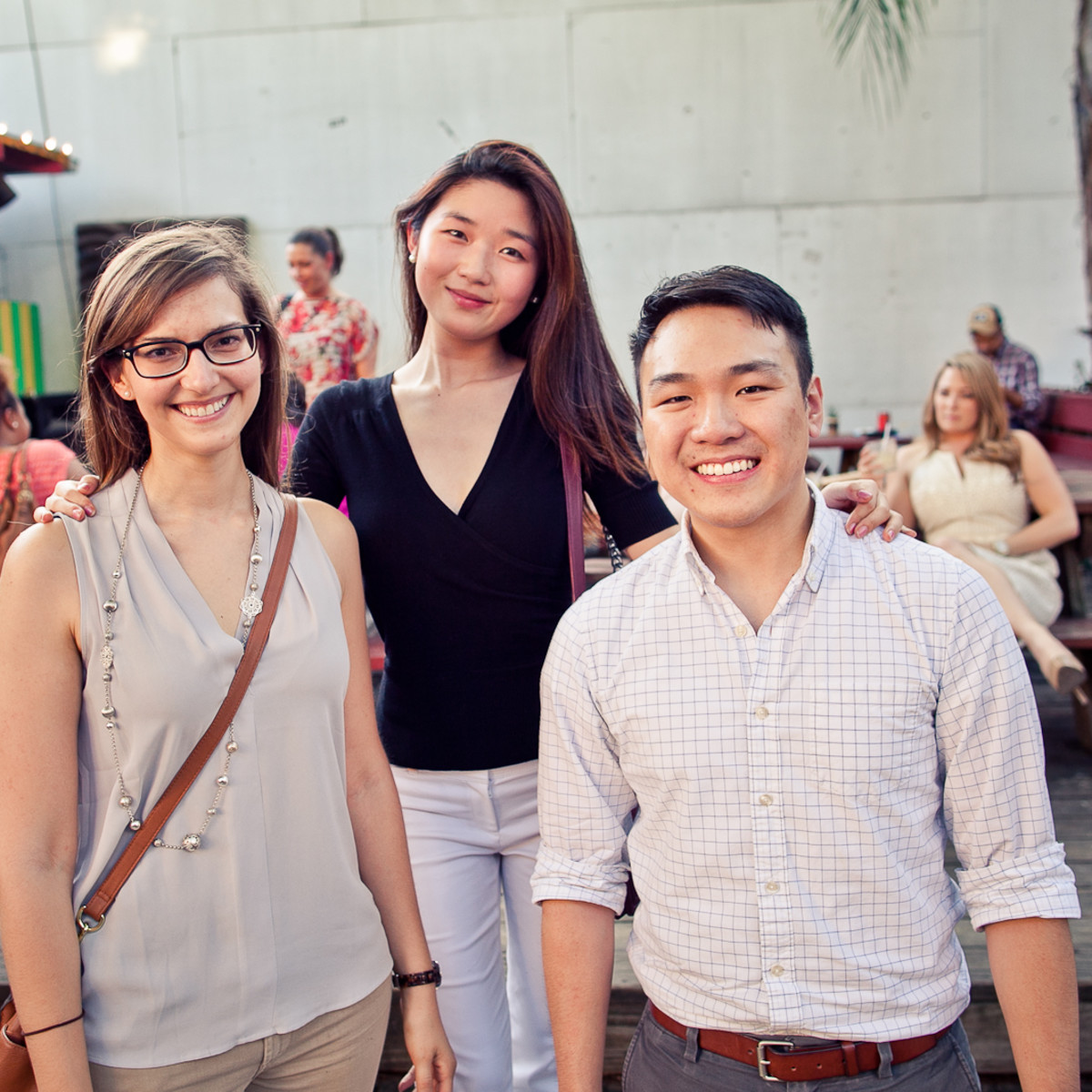 Houston, CultureMap Social, June 2015, Stephanie Marten-Ellis, Mayleen Lee, Andy H
