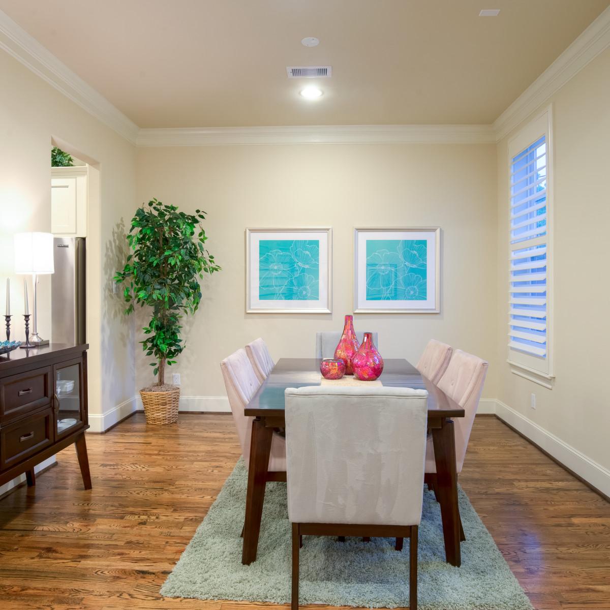 Houston, 1216 Bomar, June 2015, dining room