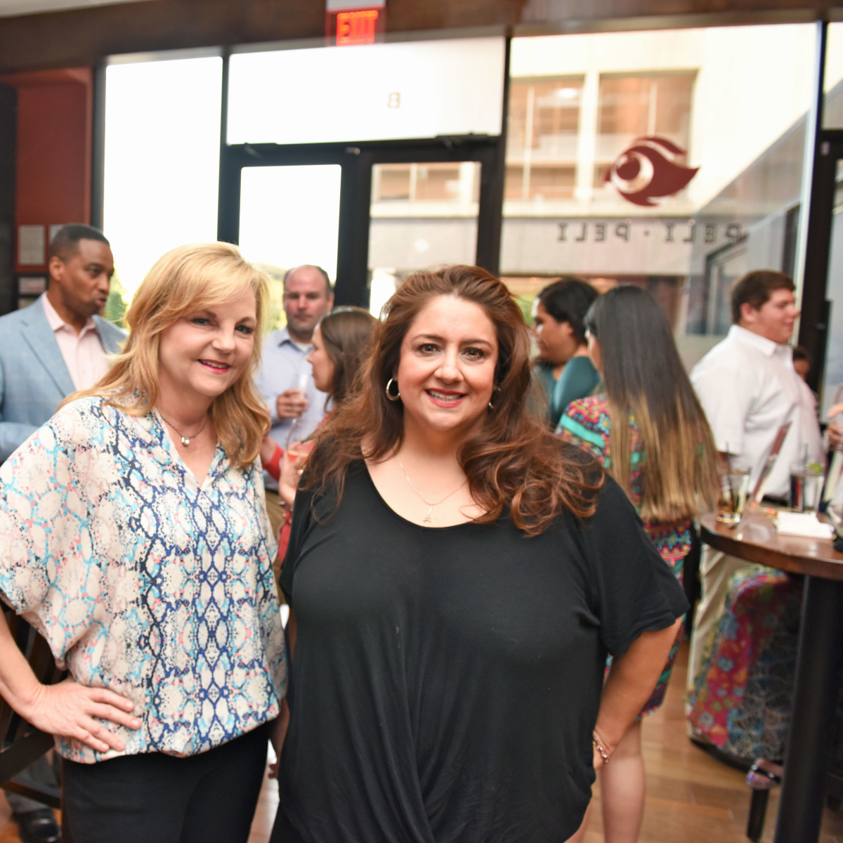 Houston, George Springer Bowling Benefit Kick Off, June 2015, Kim Padgett, Sonia Soto