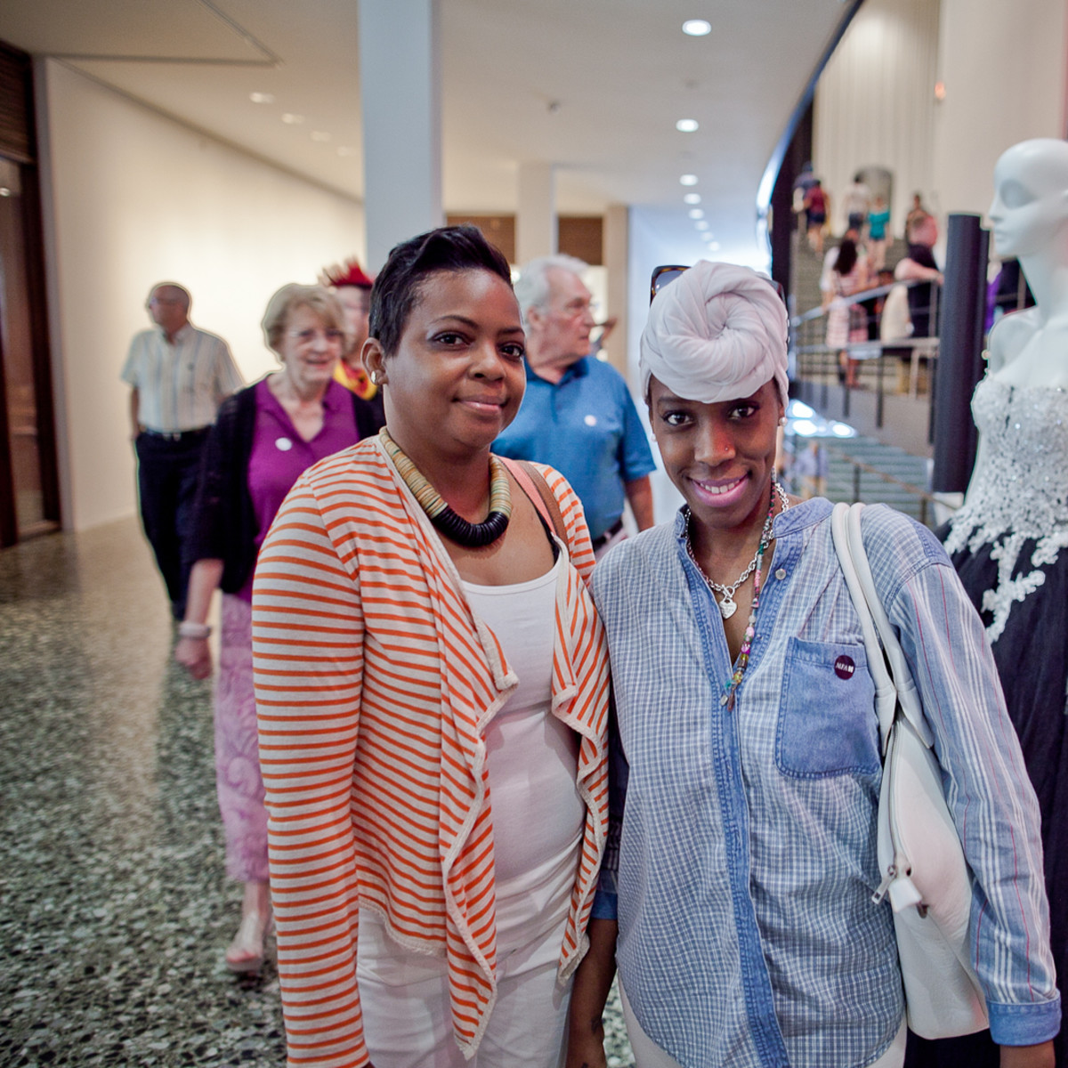 Houston, Fashion Fusion, June 2015, Kisa Williams, Terrica Preston