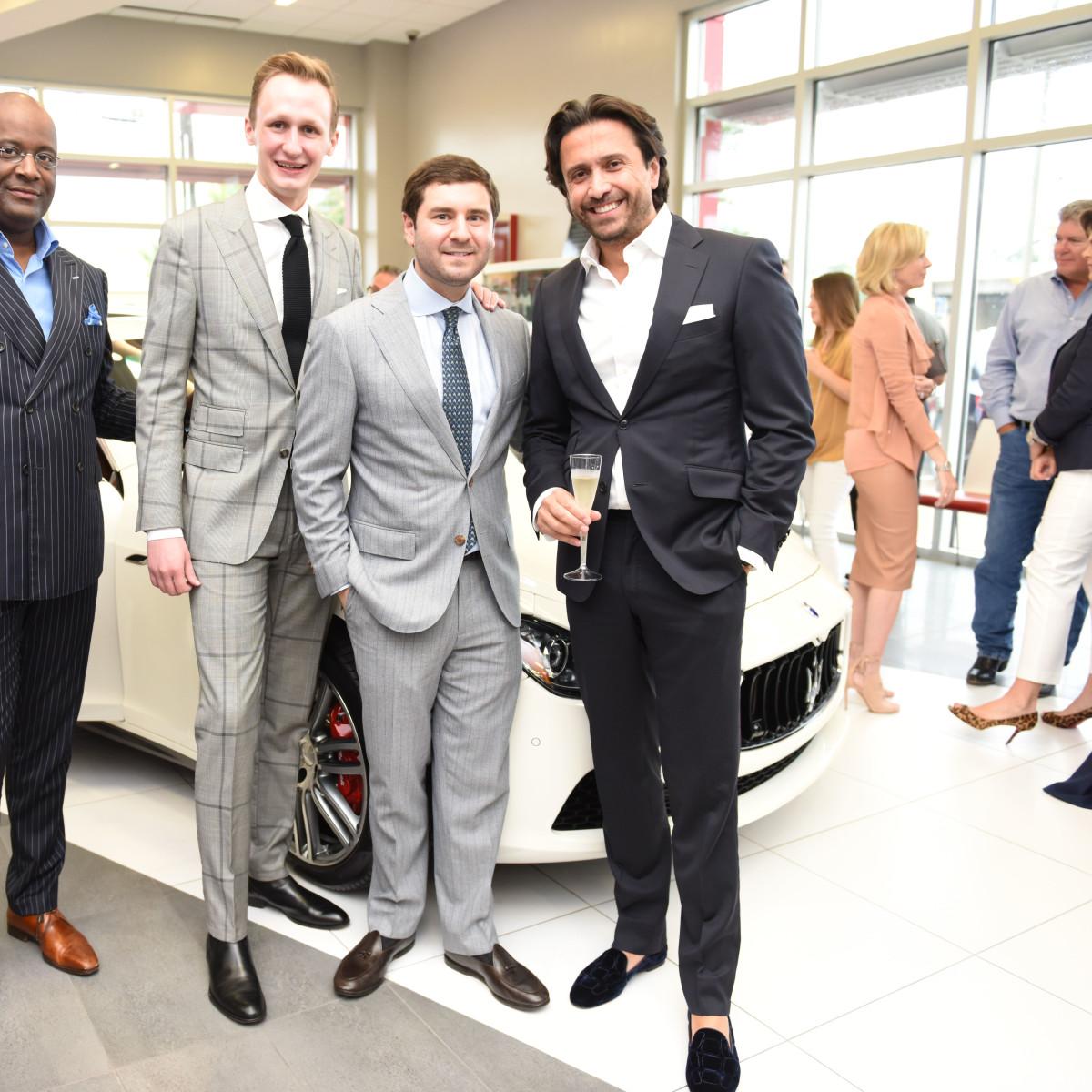 News, Shelby, Helfman Maserati opening, June 2015, Donald Walters, Clinton Wagoner, Jason Feldman, Dany Daniel