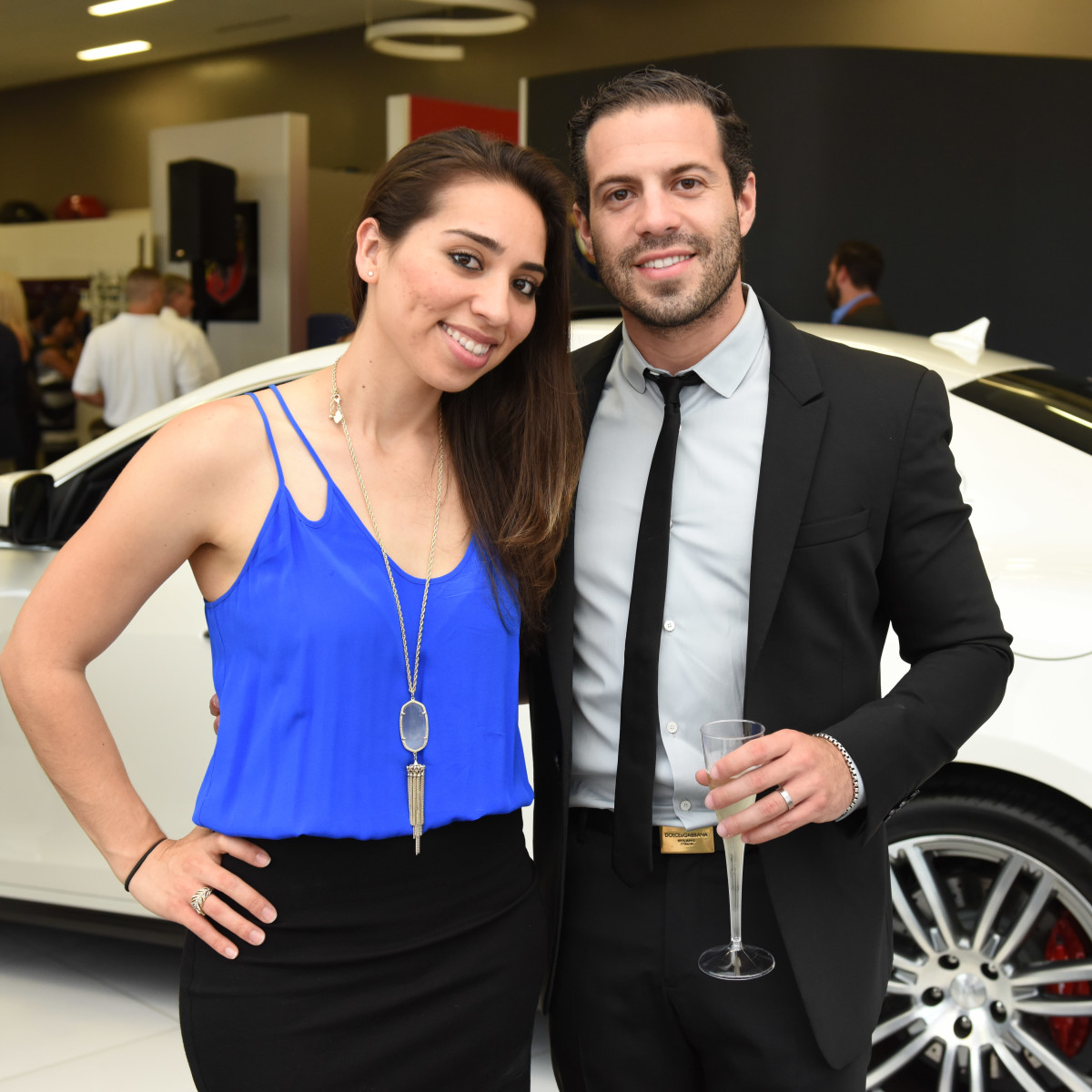 News, Shelby, Helfman Maserati opening, June 2015
