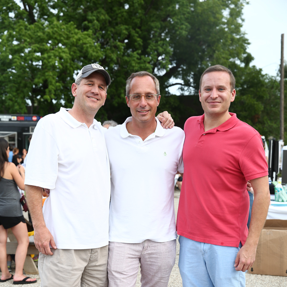 News, Shelby, Evelyn's Park Groundbreaking, june 2015, Jeff Schneider-Mark Sullivan-Jason Reeves