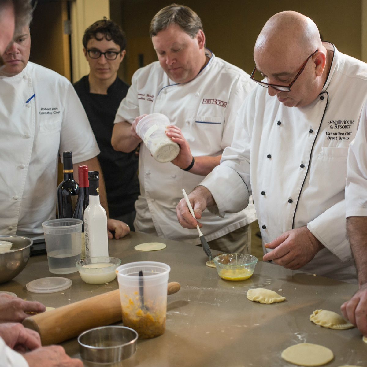 Omni Hotel Series Chefs Empanadas