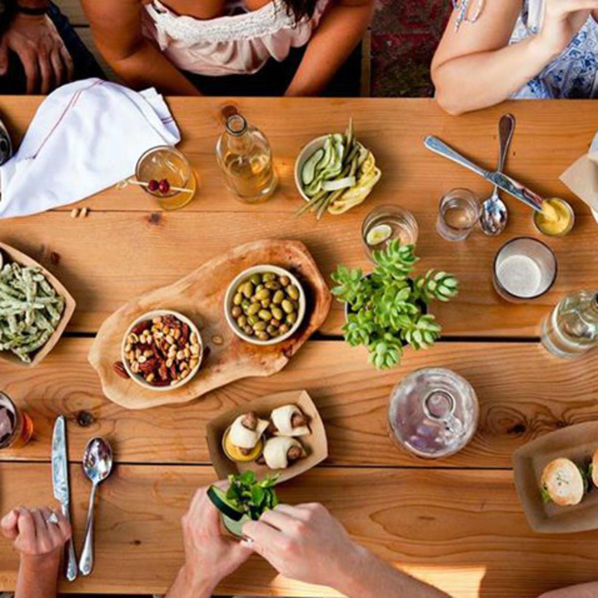 Contigo_Austin restaurant_patio bench_food_2013