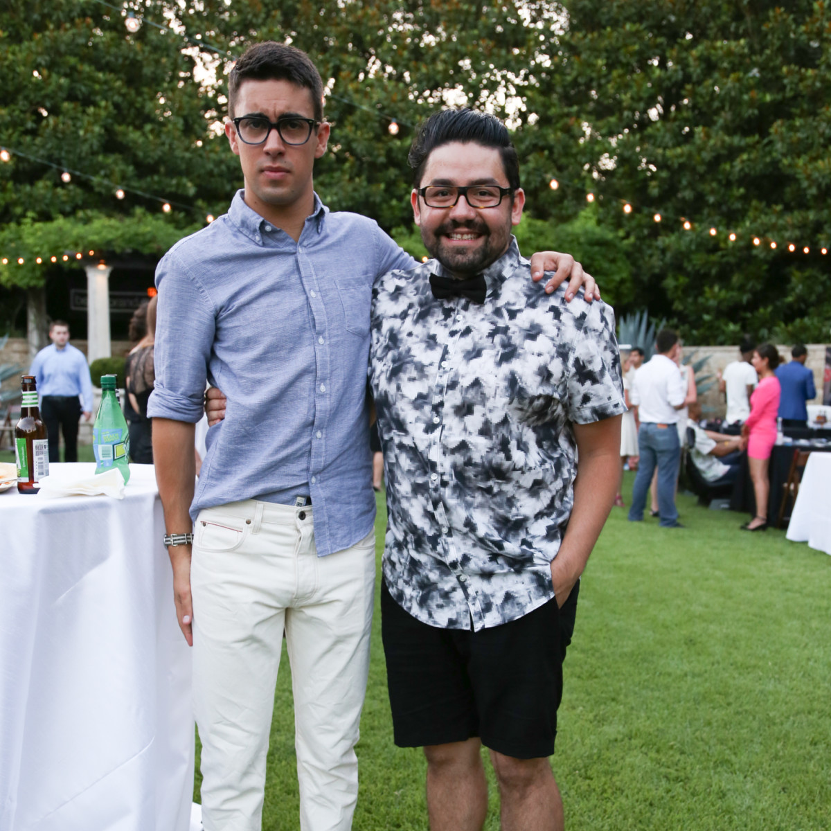 Fashion X Austin Men's Event 2015 Chance Garcia Donny Rodriguez
