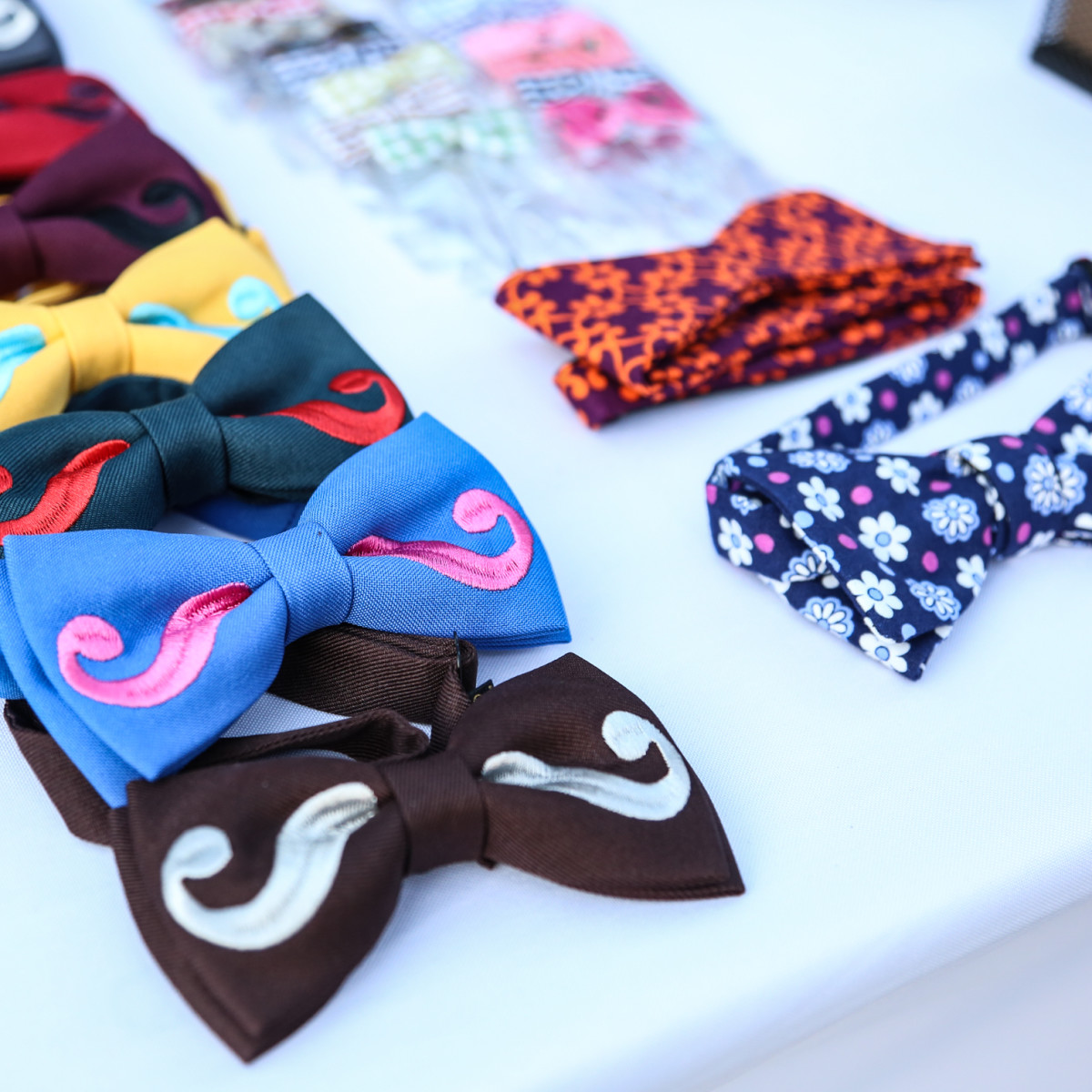 Fashion X Austin Men's Event 2015 In My Closet Men's Clothing Mustache Bowtie