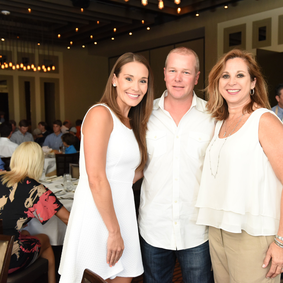 News, Roger Clemens at Vallone's, June 2015,-Leah Hart, Gregg Arnim, & Teresa Moro