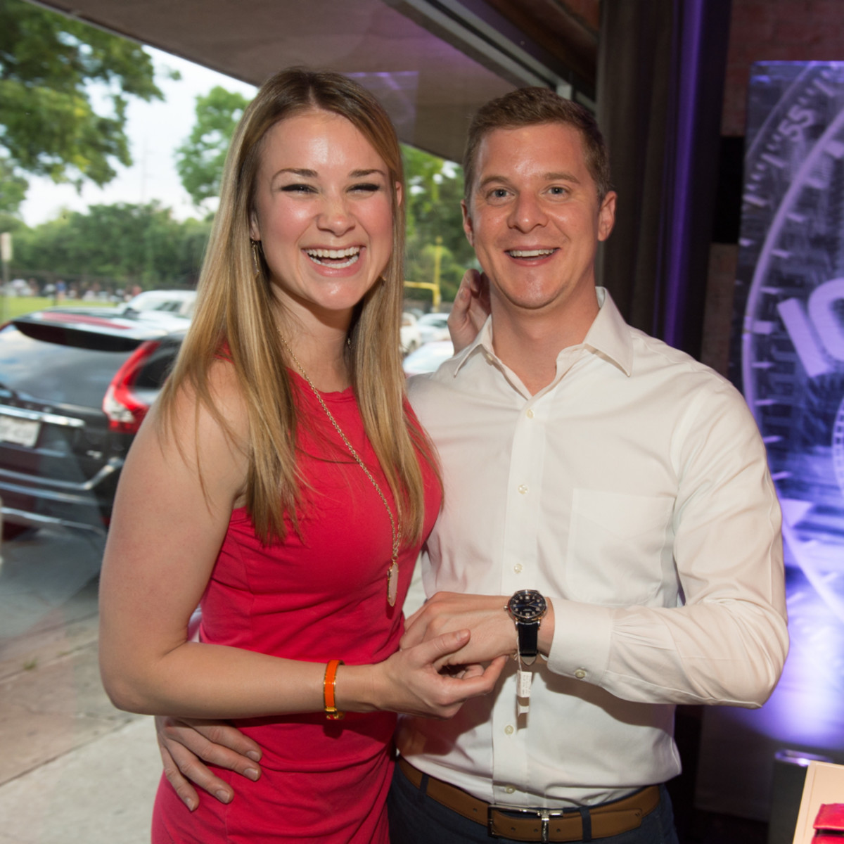 Camerata and Tiffany Watch Launch Kate Bracksieck and Chris Robart