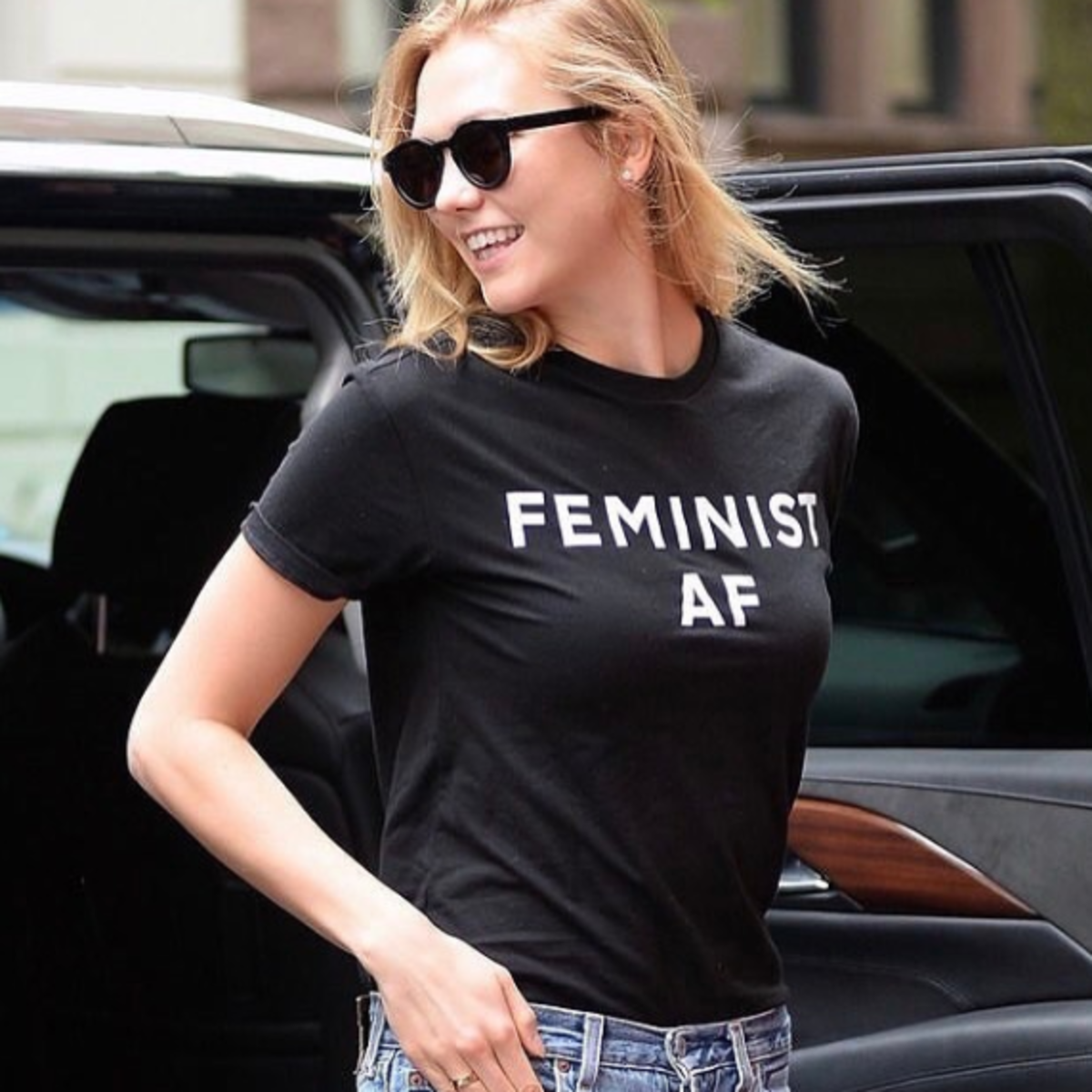 Jonathan Simkhai feminist T-shirt