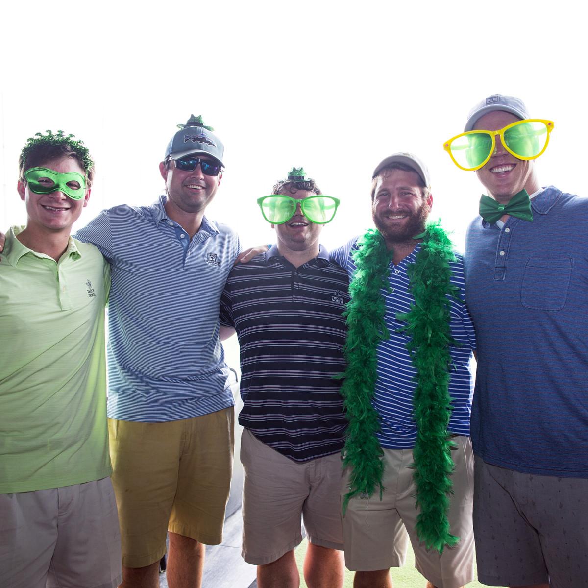 Houston, TeeUp for NFCC 6, May 2017, Matt Cire, Marshall Holmes, Griffen Guthneck, Simon Feinsilver, Matt Steitz